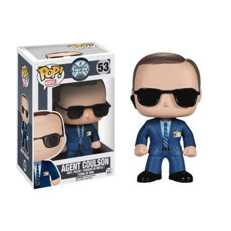 Unbekannt Funko 4053 POP! Bobble: Marvel: Agents of S.H.I.E.L.D. Agent Coulson -