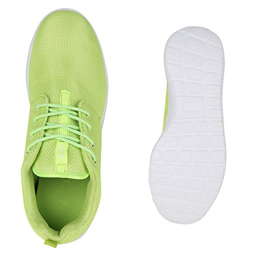 Modische Herren Sportschuhe | Freizeit Sneaker Snake | Laufschuhe Runners Trainers | Sneakers Schuhe Neongrün