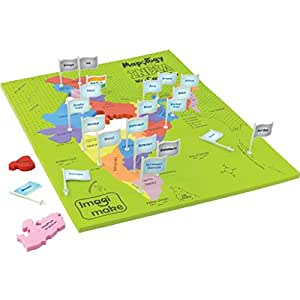 Imagimake Mapology India with State Capitals - Educational Toy and Learning Aid for Boys and Girls-Map Puzzle-Jigsaw Puzzle.