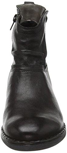 bugatti Damen J86351l Kurzschaft Stiefel Schwarz (schwarz 100)