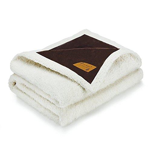 Pro goleem Luxus Weich Warm Hund Decke für Pet Beds Hundebett, Sofa, Auto, Behältnis (XL, 145x 120cm)