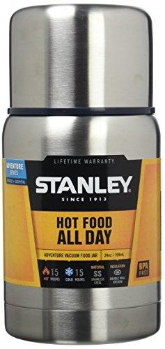 Stanley Adventure Vacuum Food Jar, 0,7 Litro, 18/8 Acciaio, Sottovuoto-Isolamento,