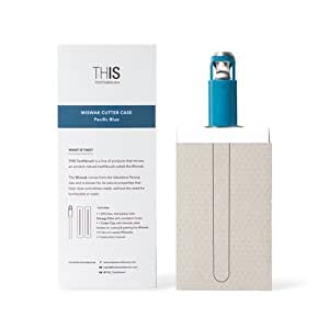 THIS TOOTHBRUSH Design MISWAK Pacific Blue Cutter included 2 toothbrushes MISWAK, Arabic traditional toothbrush, toothbrush for natural white teeth, from BLISSANY
