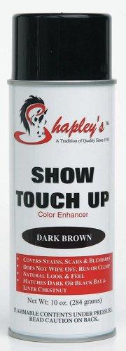 Shapley's Show Touch Up Color Enhancer Water Resistant Oil Based Dark Brown 10oz - Color Enhancer