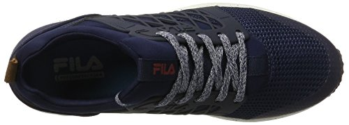 Fila Fila Men Face Striker Low, chaussons d'intérieur homme Blau (Dress Blue)