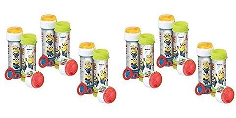 6 x Minions Despicable Me - Puzzle Maze remous de bulles 60ml chaque bouteille
