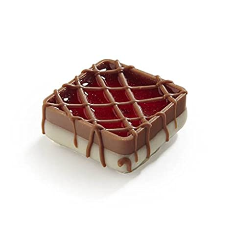 Ickx Raspberry Square Loose Chocolate with a Raspberry Ganache Fill 1 Kg