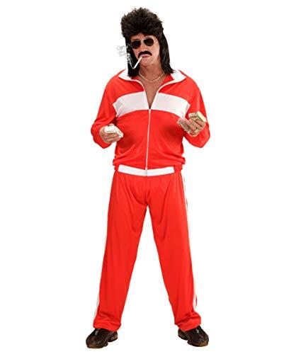 Horror-Shop 80er Jahre Jogging Anzug für Mottoparty & Karneval XL