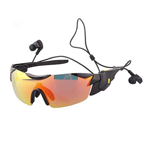 8dbe023e2d7 JIAAE Outdoor Sports Polarized Sunglasses 4.1 Bluetooth Smart  Multifunctional Equipment ...