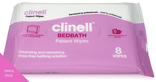clinell-bedbath-wipes-single-pack-of-8-moisturising-bathing-wipes