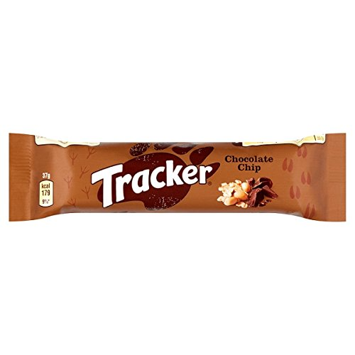Bar Chocolate Chip Keks (TRACKER Chocolate Chip 37g (Packung mit 24 x 37g))