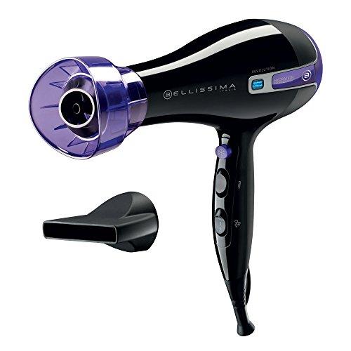 IMETEC Bellissima Revolution BHD1 1000 - Secador de pelo, 2000 W, tecnología iónica, color negro