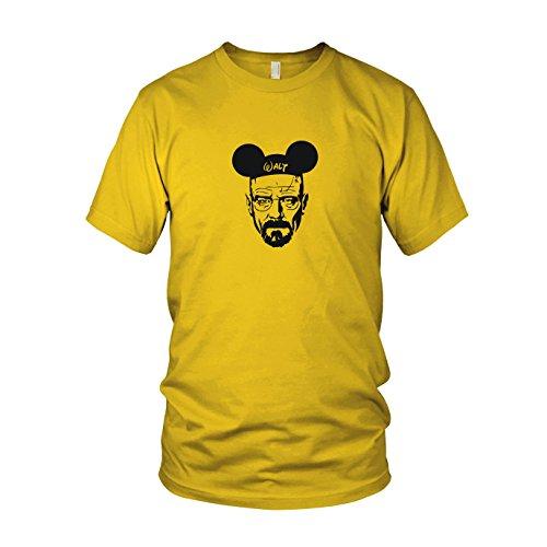 Mickey Walt - Herren T-Shirt, Größe: XXL, Farbe: gelb