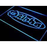 Enseigne Lumineuse s100-b Aloha Hibiscus Surf Bar Beer Neon Light Sign