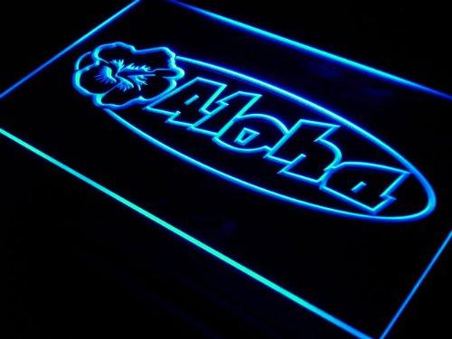 ADV PRO s100-b Aloha Hibiscus Surf Bar Beer Neon Light Sign Barlicht Neonlicht Lichtwerbung