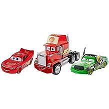 Cars 3 - Personajes a escala 1:55, paquete 4 (Mattel FBR77)