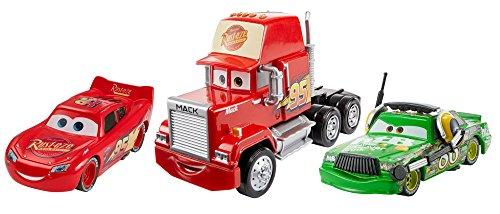 Cars 3 - Personajes a escala 1:55, paquete 3 (Mattel FBR77)