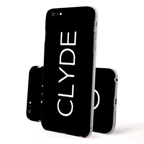 FINOO ®   Iphone 6 / 6S Hardcase Handy-Hülle   Transparente Hart-Back Cover Schale mit Motiv Muster   Tasche Case mit Ultra Slim Rundum-schutz   stoßfestes dünnes Bumper Etui   100 Euro Schein Clyde