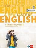 A new taste of English: Kurs- und Übungsbuch + MP3-CD