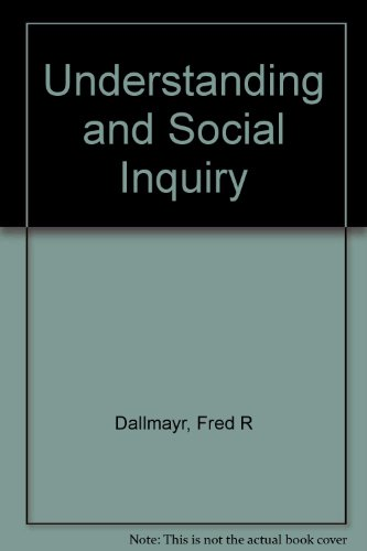 Understanding and Social Inquiry