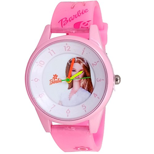 Super Drool SD0157_WT_PINKBB  Analog Watch For Girls