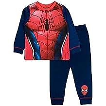 Pijama de personaje de novedad para niños. - Edad 12 meses - 8 años Superhéroes