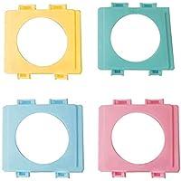 SimpleLife Hamster Cages Puerto de túnel Placa Exterior Tubo Externo Boca Bafle Hamsters Toy, Color Aleatorio