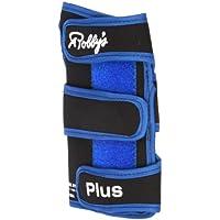 Robby's Coolmax Plus Right Wrist Support - Guante de bolos, color negro/azul, talla XL