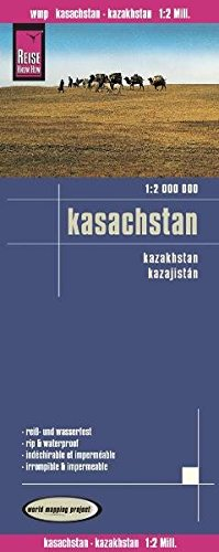 Landkarte: Kasachstan (1:2.000.000), Reise Know-How