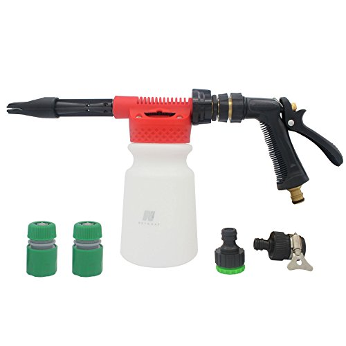 Snow Foam Lance, Car Washing Snow Foam Gun, Foam Car Washer, Cleaning Foam Sprayer Lance, Car Wash Foam Lance 900ML For Car&Garden Cleaning