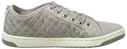 Geox Jr Creamy D, Sneakers Hautes fille Beige (C5000)