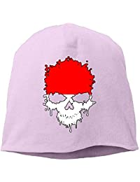 jingqi Unisex Breathable Knitted Hat, Indonesia Skull Ski Cap for Mens & Womens
