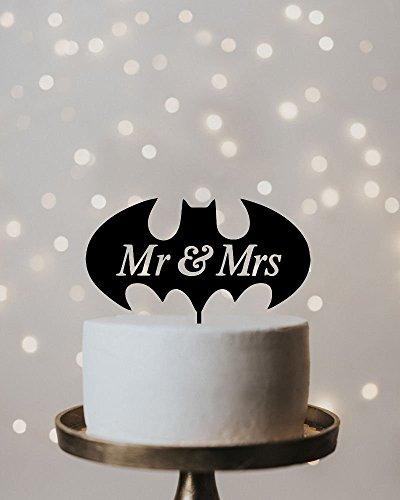 Hochzeitstorte Topper Batman Hochzeit Kuchen Topper Tortenaufsatz Hochzeit Kuchen Topper Batman Cake Topper Batman Hochzeit Geeky Hochzeit Geek