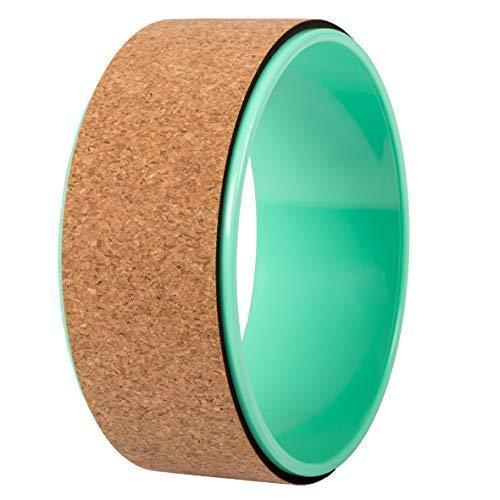 JAP Sports – Yoga Wheel – Yoga Rad – [Pro Series] Stärkstes und bequemstes Dharma Yoga Prop Rad, Perfektes Zubehör zum…