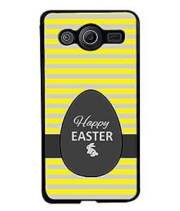 PrintVisa Designer Back Case Cover for Samsung Galaxy Core Prime G360 (happy easter egg rabbit image)