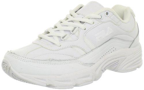 Fila Memory Workshift Damen Weiß Leder Wanderschuh EU 7,5 (Schuhe Fila-weiß)
