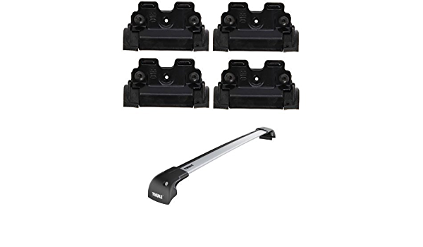 Thule 4027 Mounting Kit Thule Wingbar Edge 959500 Roof Rack With Fixing Points And Integrated Rails Auto