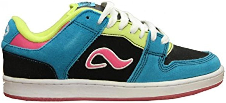 Adio Skateboard Shoes Monroe Black/Blue/Pink Sneakers shoes  -