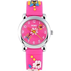 Longqi Children Electronic Watch Waterproof Jelly Student Wristwatch