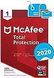 McAfee Total Protection 2020 - Antivirus | 1 Dispositivo | Suscripción de 1 año | PC/Mac/Android/Smartphones | Código de activación por correo