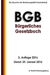 Das BGB - Bürgerliches Gesetzbuch, 2. Auflage 2016