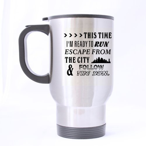 Mode prêt à rouler de voyage en acier inoxydable à thé-Mug-Tasse à thé/14 cl