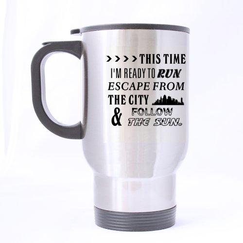 Mode Ready to Run Voyage en Acier Inoxydable Thé Mug/Tasse à thé – 396,9 Gram