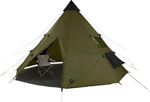 Grand Canyon Tepee - Tipi-Indiana-Zelt (8-Personen-Zelt), olive/schwarz, 602007