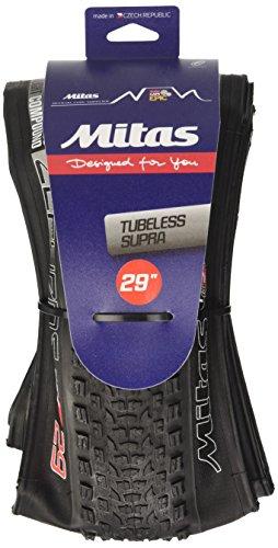 Mitas Zefyros Tubeless Neumáticos, Negro, 29 x 2,25