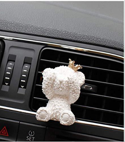 FAMA Profumo Auto Gesso Aroma Corona Orso Aria Condizionata Decorativo Cruscotto Decorazione Auto Presa d'Aria Deodorant
