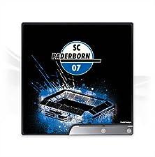 DeinDesign Sony Playstation 3 Slim CECH-2000-3000 Folie Skin Sticker aus Vinyl-Folie Aufkleber SC Paderborn Fanartikel Stadion