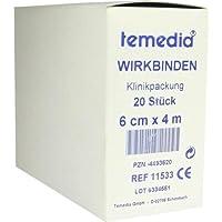 Wirkbinde 4mx6 cm, 20 St preisvergleich bei billige-tabletten.eu