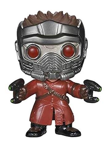 Figurine Pop ! Marvel 47 - Les Gardiens de la Galaxie - Bobble-Head Star-Lord