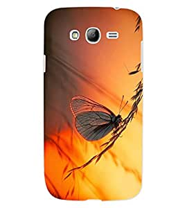 ColourCraft Beautiful Butterfly Design Back Case Cover for SAMSUNG GALAXY GRAND I9082